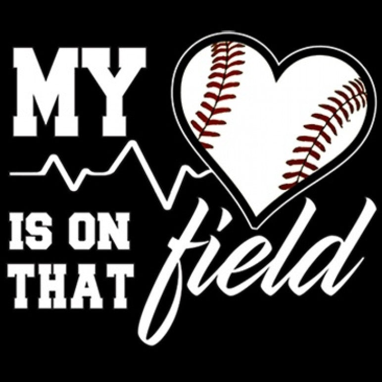 Ready to Press Transfer - Heart On That Field-Baseball