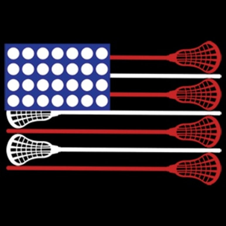 Ready to Press Transfer - Lacrosse Flag