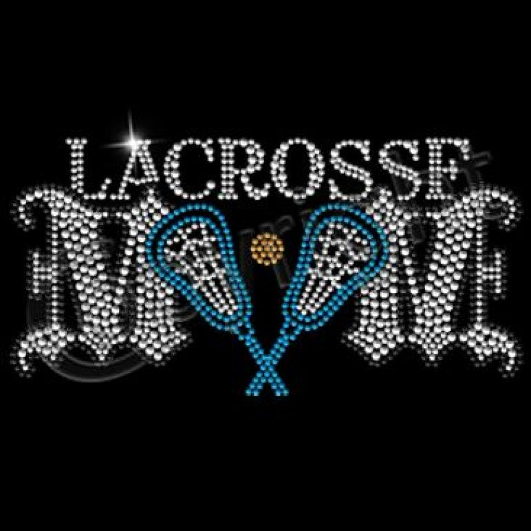 Ready to Press Transfer - Lacrosse Mom Rhinestone