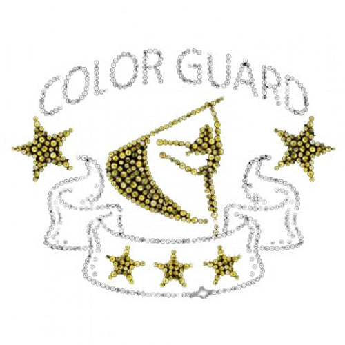 Ready to Press Transfer - Color Guard Sequins