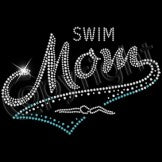 Ready to Press Transfer - Swim Mom Rhinestone