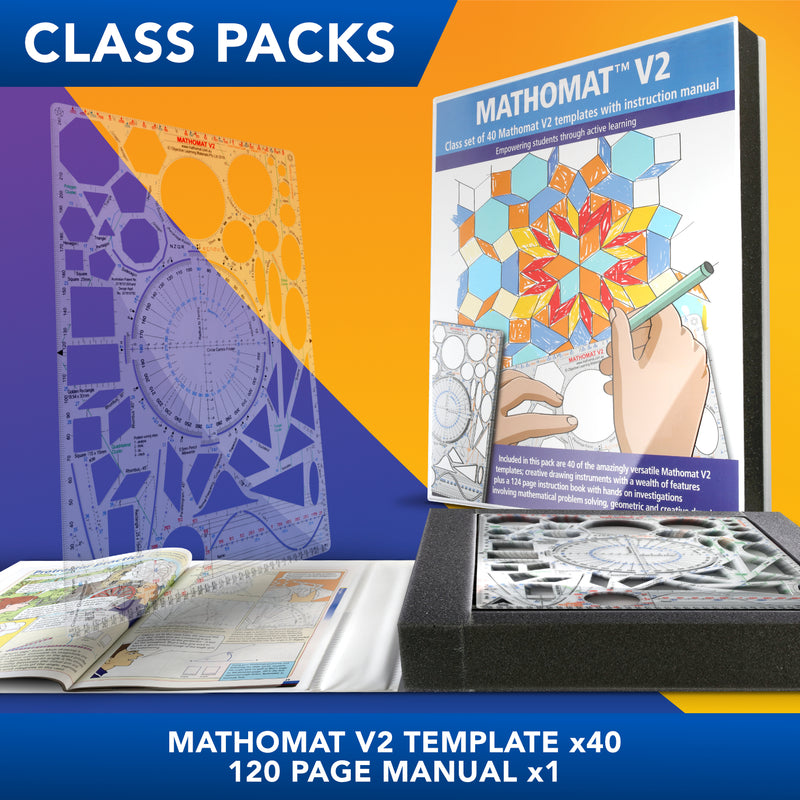 Mathomat V2 Template<br>(Class Pack of 40)