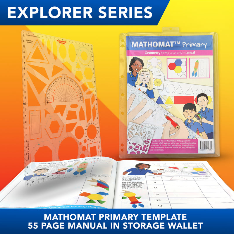 Mathomat Primary Template<br>(Explorer Pack)