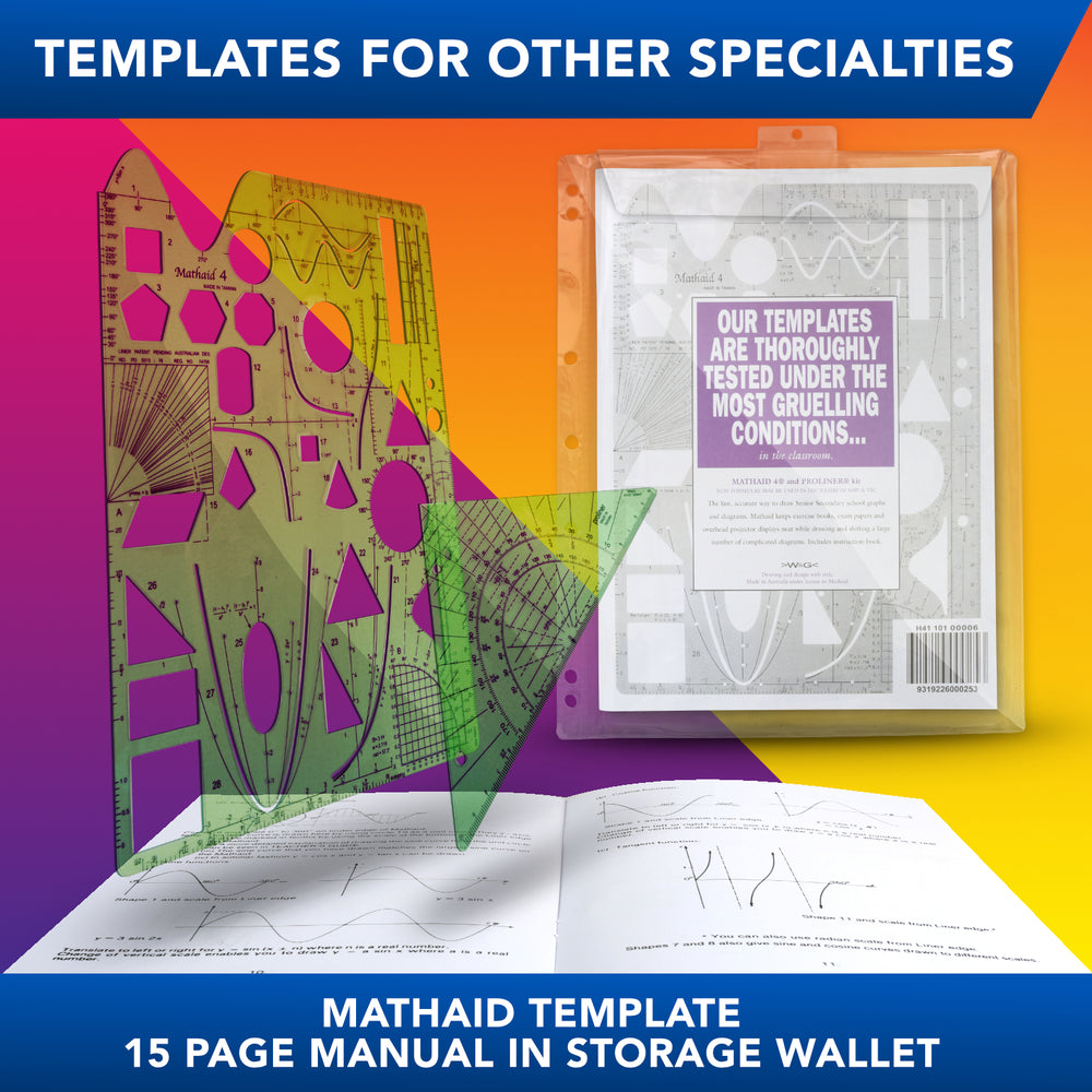 Mathaid Template with Proliner Kit