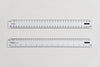 91912 Ratios: 1:1, 20, 25, 50, 100, 200, 250, 500 - Hand scale ruler, 300mm