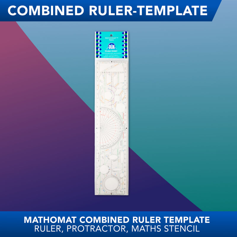 Mathomat<br>Combined Ruler Template