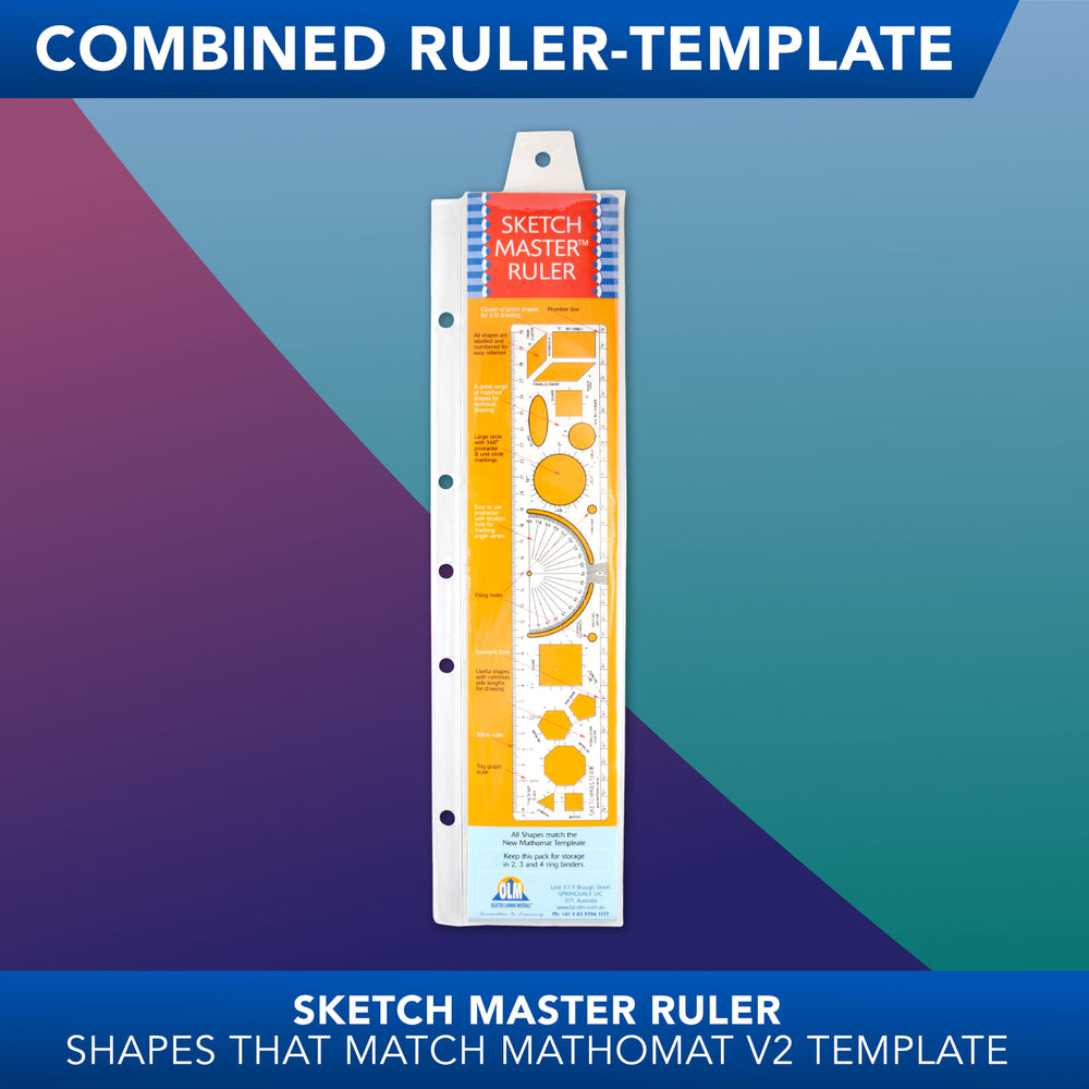 Sketchmaster<br>Combined Ruler Template