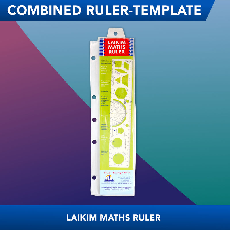 Laikim<br>Combined Ruler Template