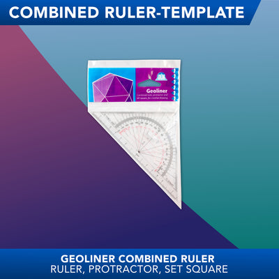 Geoliner<br>Combined Ruler Template