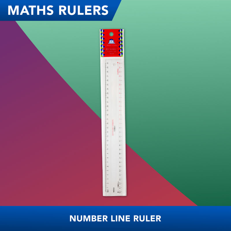 Number Line<br>Maths Ruler