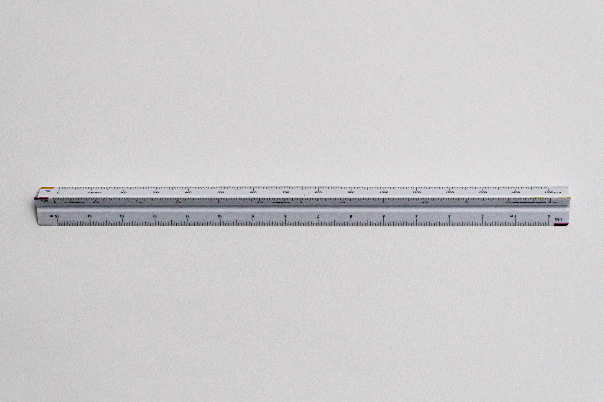 CTM9612 Ratios: 1: 1,2,5,10,20,50 - Hand scale ruler, 300mm