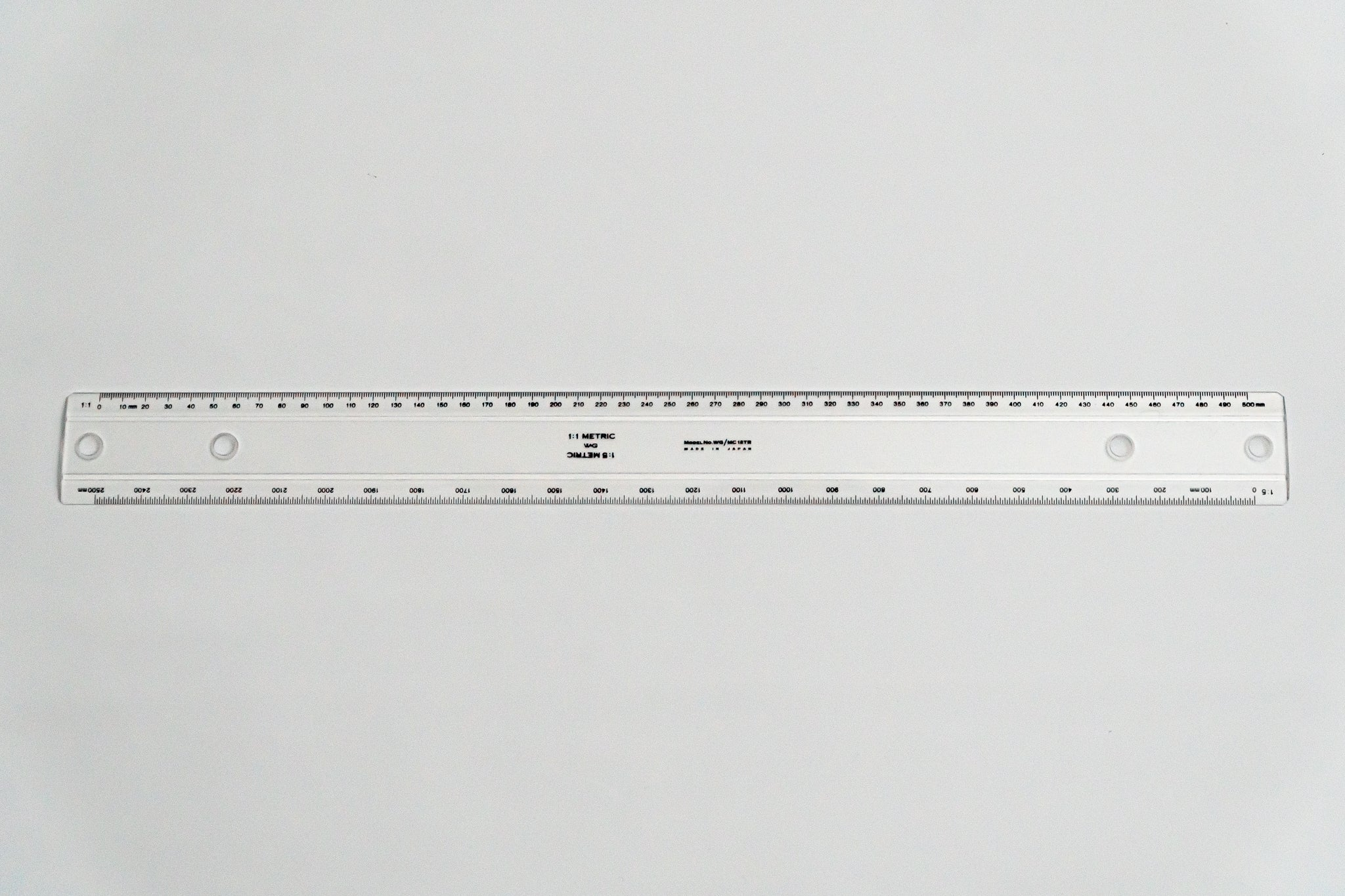 MC18TR  Drafting Machine Ruler, 1:1,5. Length: 500mm, 59mm spacing