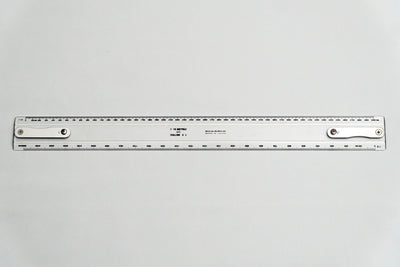 MF63-500 Drafting Machine Ruler, 1:5,10. Length: 500mm with B2 chuck plate fitted