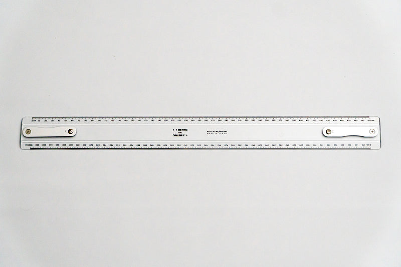 MY63-500 Drafting Machine Ruler, 1:1,2 Length: 500mm with B2 chuck plate