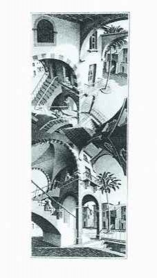 M.C. Escher Posters High and Low