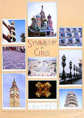 SYMMETRY IN CITIES poster