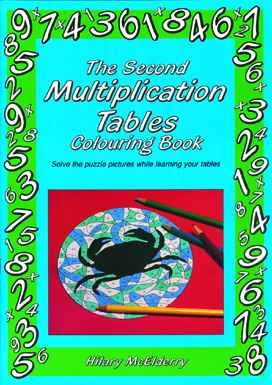 THE SECOND MULTIPLICATION TABLES COLOURING BOOK