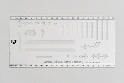 Telstra Internal Cabling Symbols Template