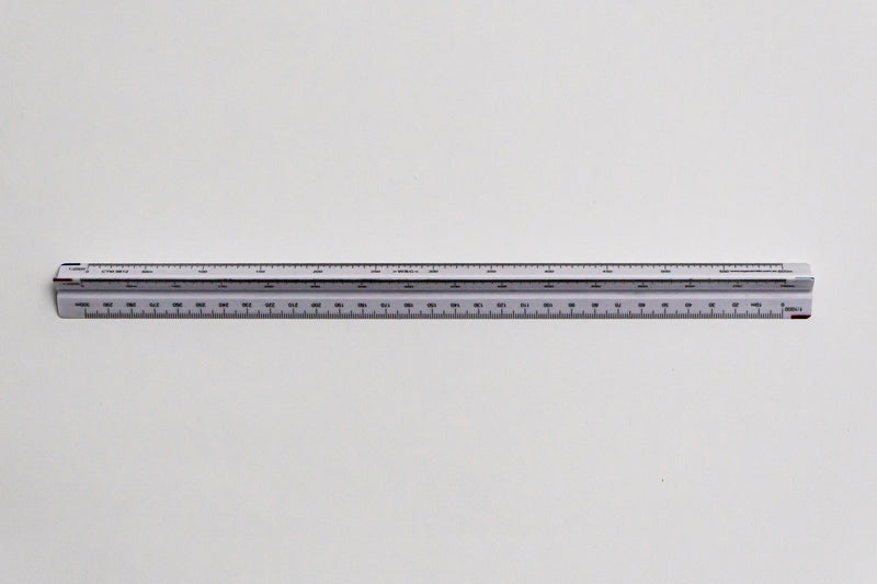 CTM9812 Ratios: 1: 500, 1000, 1250, 1500, 2000, 2500 - Hand scale ruler, 300mm