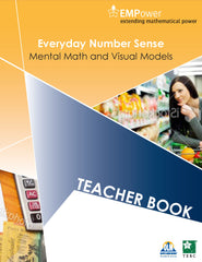 Empower metric. Everyday number sense: Teacher and student book BLM