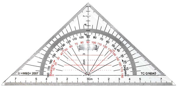 Geoliner Protractor Mathomat Geometry Drawing Template
