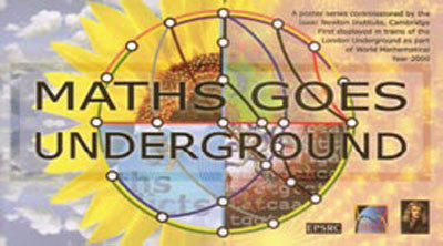 Maths Goes Underground 12 Poster Set Printed In Australia