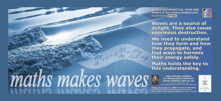 Maths Goes Underground - Maths Makes Waves