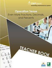 Empower metric. Operation sense: Teacher and student book BLM