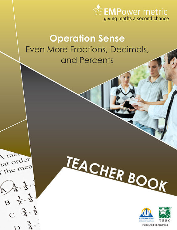 Empower metric Operation sense. Teacher book