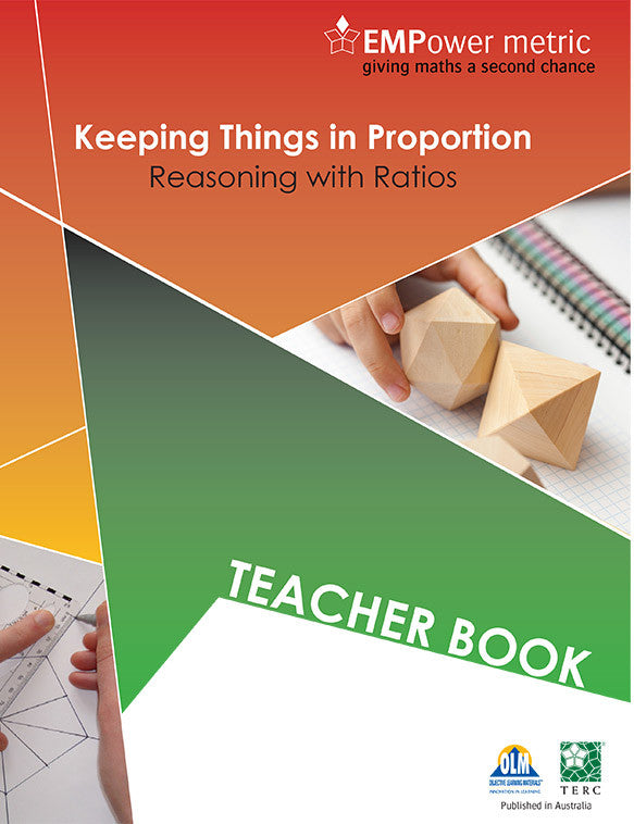 EMPower metric Keeping Things in Proportion Teacher book