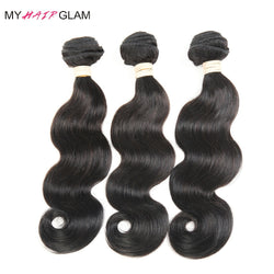 3 Bundles Brazilian  Body Wave