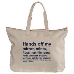 Hands Off Tote