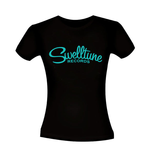 Women's Swelltune Records Classic Logo Shirt