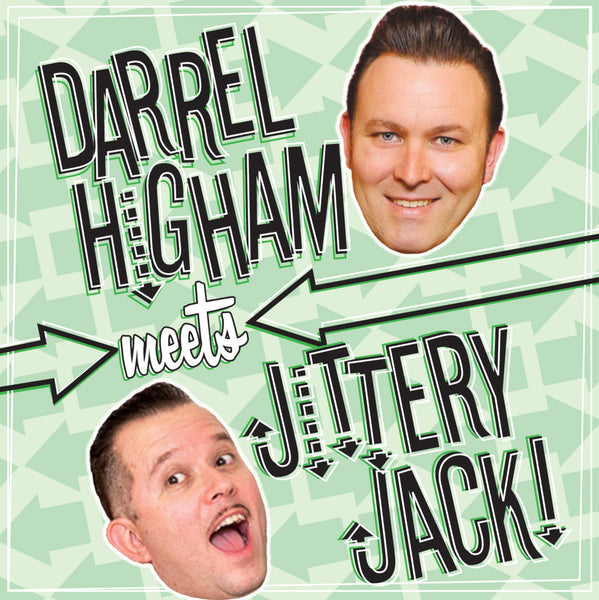 Darrel Higham Meets Jittery Jack - CD