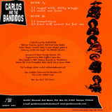 "Carlos and the Bandidos - self-titled 7"" Vinyl EP Record"