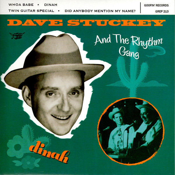 "Dave Stuckey & the Rhythm Gang - Dinah 7"" Vinyl Record"
