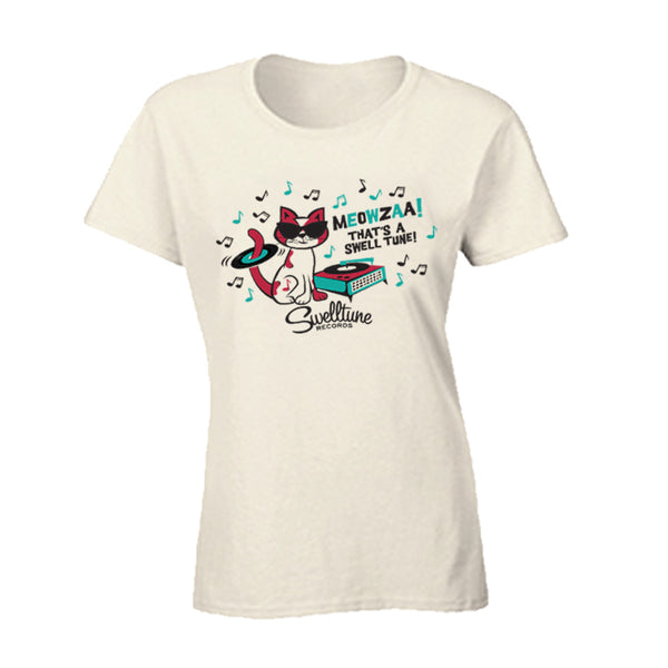 Swelltune Records Meowzaa Shirt - Women's