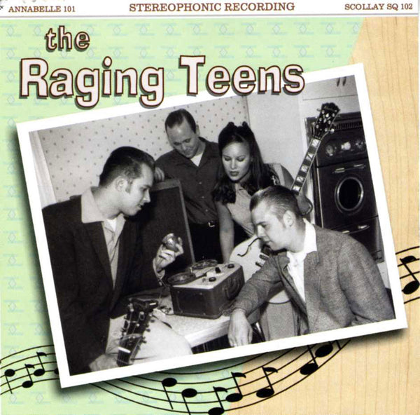 The Raging Teens, Self-titled First Release - CD