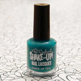 New England Shake-Up Nail Lacquer in Shake-Up Teal