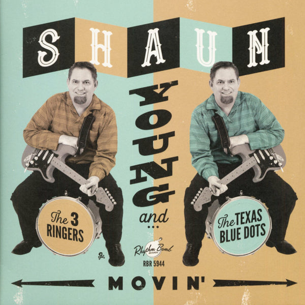 "Shaun Young & the 3 Ringers AND The Texas Blue Dots - Movin' 12"" Vinyl Record"