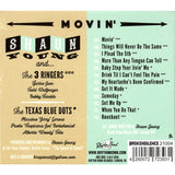 Shaun Young & the 3 Ringers AND The Texas Blue Dots - Movin' CD