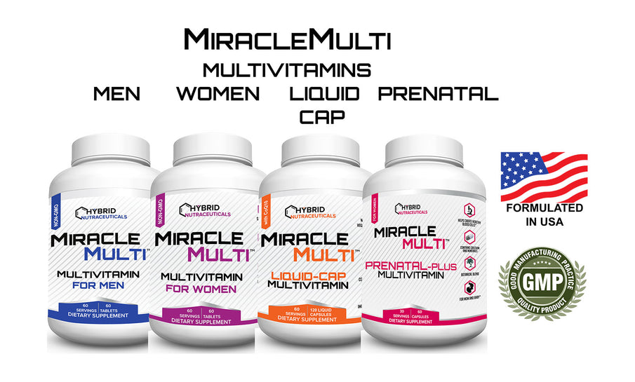 Multivitamins for Middle Aged Men and Women