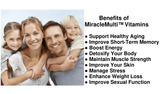 Benefits of MiracleMulti™ Women's Multivitamin by Hybrid Nutraceuticals