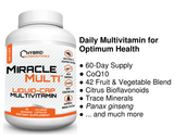 MiracleMulti Liquid-Caps Multivitamin with CoQ10