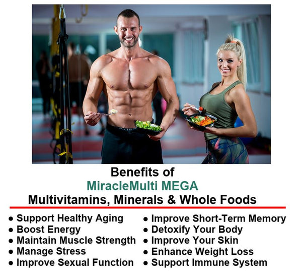 MiracleMulti MEGA Multivitamin-Multimineral High Potency