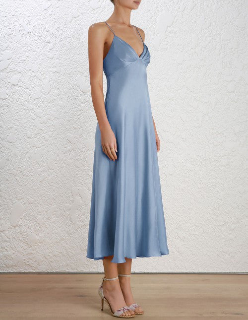 Winsome Bias Slip Dress