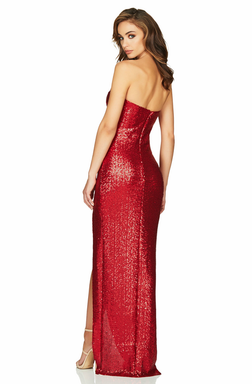 Adele Sequin Gown