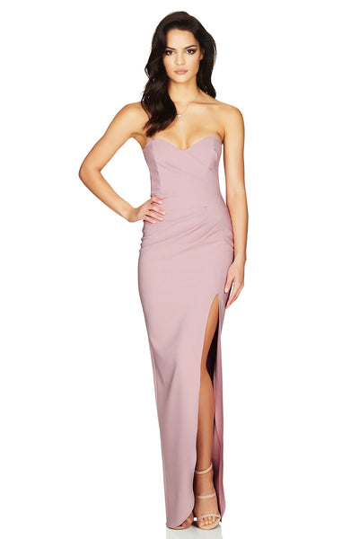 Bisous Gown Dusty Pink