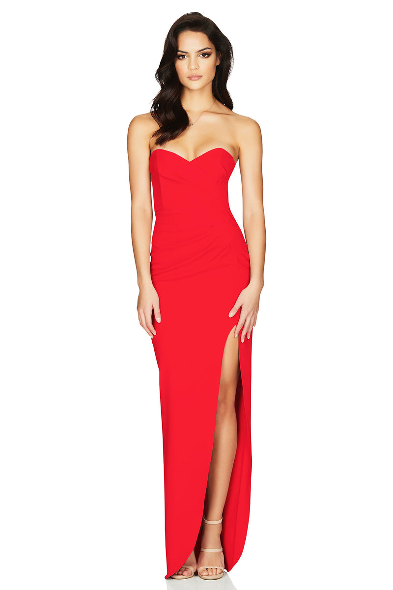 Bisous Gown Red