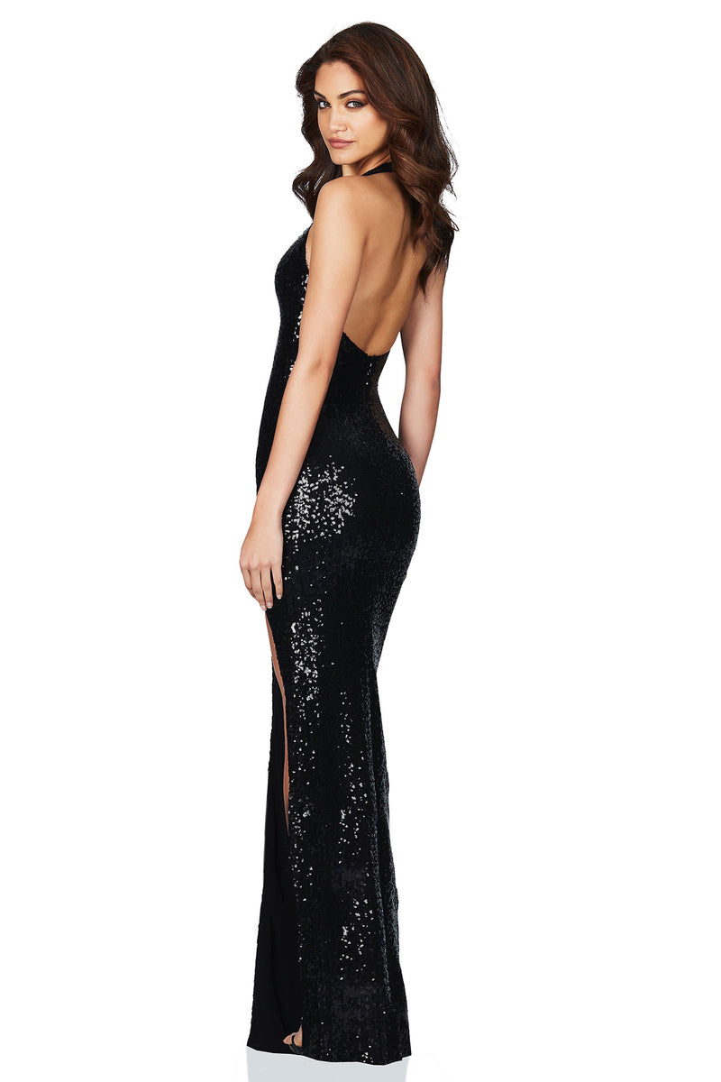 Smoulder Gown Black